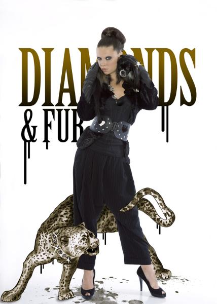 34 Diamonds and Furs Photo Sandra Myhrberg Illustration Charlotta Havh